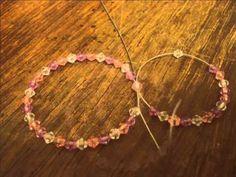 Tutorial: Beaded Double Hoop Earrings with Bow