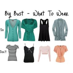 Dress Style For Large Breasts - 8 Fool-Proof Fashion Tips Image detail for -Big Bust – What To Wear by Aileen Lane featuring racerback tank .Image detail for -Big Bust – What To Wear by Aileen Lane featuring racerback tank . Dresses For Big Bust, Nice Dresses, Look Fashion, Fashion Outfits, Womens Fashion, Fashion Trends, Woman Outfits, Fashion Hacks, 80s Fashion