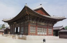 This is Geunjeong-jeon, the central building in Gyeongbok-gung Palace, Seoul!