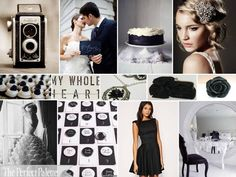{By Request}: Vintage Glam, Please! Black & White