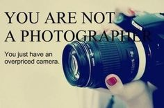 This goes out to Amy and Anil, photographers and owners of expensive cameras!