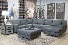 mor furniture for less the barcelona rightfacing chaise sectional