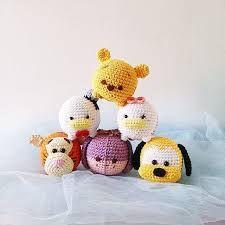 Resultado de imagen para pencil topper crochet piglet pooh