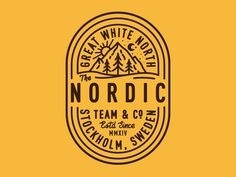 Dribbble - Nordic by Nick Slater