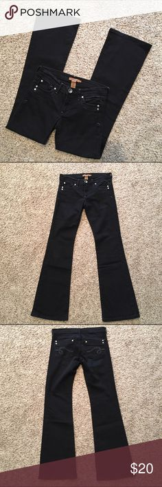 Arden B. Womens Size 25 flare jeans Great condition! Ships fast! Smoke free home! Arden B Jeans Flare & Wide Leg
