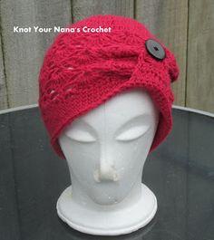 Knot Your Nana's Crochet: Free Crochet Pattern: The Sharon Slouch