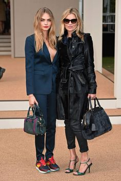 It's a Style Off: Cara Delevingne vs. Kate Moss