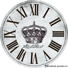 Циферблаты часов. 50 шаблонов для распечатки (1)
