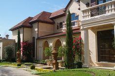 Italian Mediterranean Garden Villa mediterranean exterior