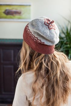 Altair hat pattern by Jared Flood
