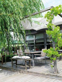 Matplats i trädgården/Uteplats