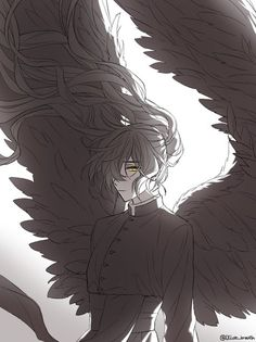 Jue Viole Grace from Tower of God Me Anime, Anime Angel, Cute Anime Guys, Anime Boys, Fang Maximum Ride, Fiction, Pretty Art, Manhwa, Manga Art