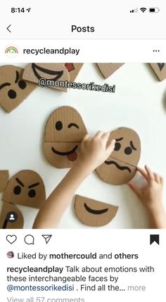 , Best Picture For Montessori Activities list For Your Taste You are looking. Social Emotional Activities, Feelings Activities, Social Emotional Development, Preschool Learning Activities, Toddler Learning, Infant Activities, Emotions Preschool, Teaching Emotions, Feelings Lesson Plans Preschool