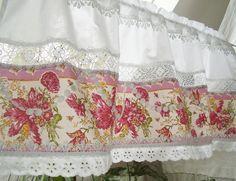 Pretty shabby chic curtains