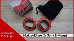 Unboxing Video über Makro-Zwischenringe für Sony E-Mount Kameras #unboxing #makrozwischenringe #sonyemount