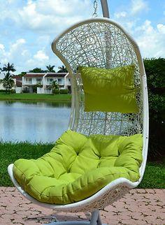 Clove – Balance Curve Porch Swing Chair  Great Hammocks  - Model  Y9091WT