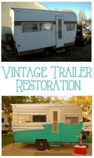 Vintage Trailer Restoration DIY