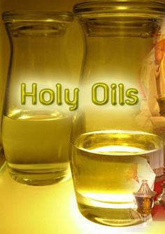 how to make anointing oil recipe