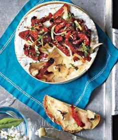 Baked Camembert With Sun-Dried Tomatoes | RealSimple.com