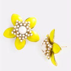 Love These Kate Spade Earrings Yellow Flower Women S