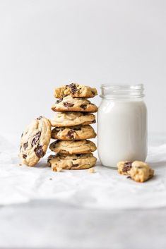 Peanut Butter Chocolate Chip Cookies Treats for those with a sweet tooth by Karen Gilbert Chocolate Chip Cookies, Chocolate Peanut Butter, Chocolate Chips, Peanut Butter Nutella Cookies, Chocolate Donuts, Baking Recipes, Cookie Recipes, Dessert Recipes, Dessert Food