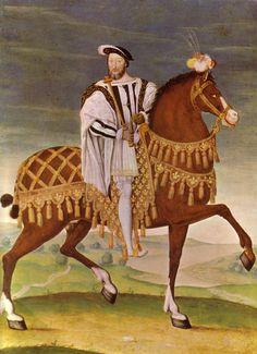 Francois I, king of France.
