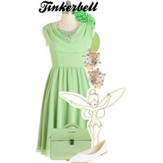 Peter Pan - Tinkerbell by amarie104 on Polyvore