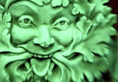 "The green world is the realm of the plants, life forms that capture and transform the basic elements of creation: earth, air, water and sunlight, through photosynthesis into forms of energy that become food and fuel for humanity and other living beings.    In relation to Jungian psychology, the Greenman may be seen as an ""archetype, a collectively inherited unconscious idea, pattern of thought, image, etc, universally present in individual psyches."""