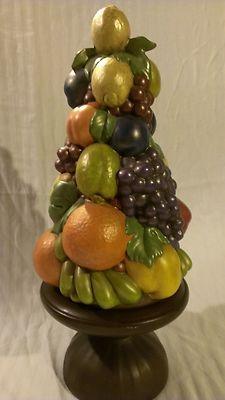 Large Ceramic Fruit Centerpieces Architecture Modern Idea