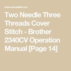 Instruction Manual Brother D Sewing Parts Online  Maquina