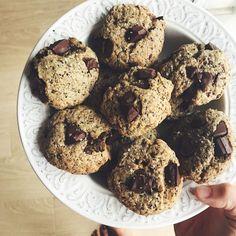 cookies aux mega pépites de chocolat (healthy)