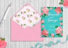 Wedding invitation templates on Behance