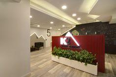 Interior design of training center: THE ENTRANCE!