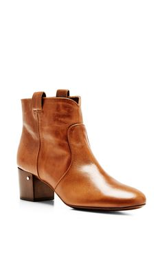 Belen Leather Ankle Boots by Laurence Dacade