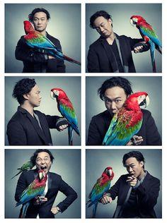Olaf Mueller - artist photographer capturing the awesome pop star Eason Chan! Fab fun shots :)