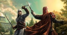 Altair's Fight by Entar0178 on DeviantArt