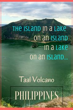 My second attempt to reach Taal volcano and its caldera lake was more successful. Slow Travel, Asia Travel, Travel Tips, Travel Destinations, Poetry Inspiration, Travel Inspiration, Taal Volcano, Tourist Places, Philippines Travel