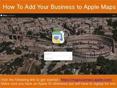 Add Your Miami Business to Apple Maps with this DIY / How to Guide from ilocal seo.