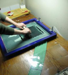 screen printing - how to