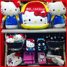 "277 Likes, 11 Comments - @hk_ladybug on Instagram: ""❤️💙💛❤️💙💛❤️💙💛❤️💙 Happy Little Display At Hallmark ❤️💙💛❤️💙💛❤️💙💛❤️💙 #hellokitty #chococat #hallmark…"""