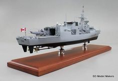 SD Model Makers > Frigate Models > Halifax Class Frigate Models Royal Canadian Navy, Shipping Crates, Model Maker, Work Horses, Paint Schemes, Display Case, Sd, Models, Ships