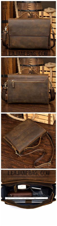 Leather Messenger Bag, Leather Briefcase, Brown Messenger Bag, Laptop Bag, Leather Laptop Bag Source by Bags leather Leather Laptop Bag, Leather Briefcase, Leather Purses, Leather Wallets, Leather Bags Handmade, Handmade Bags, Leather Craft, Cool Laptop Bags, Black Purses