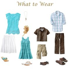 {What to Wear: Summer Families, Seniors, Maternity} Family Reunion Photos, Family Photos What To Wear, Family Pictures, Beach Pictures, Clothing Photography, Beach Photography, Family Photography, Photography Tips, Photography Outfits