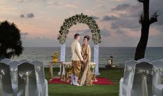 Luxe Travel: 6 of the top luxury resorts in Phuket Island, Thailand | Sunset beach wedding | The Luxe Lookbook