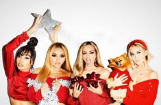 Find images and videos about christmas, little mix and perrie edwards on We Heart It - the app to get lost in what you love. Little Mix Outfits, Little Mix Jesy, Little Mix Style, Jesy Nelson, Perrie Edwards, 1d Day, Litte Mix, Happy Merry Christmas, Sisters Forever