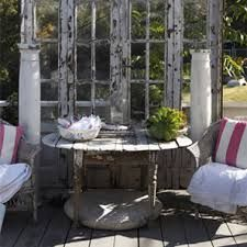 garden room from recycled glass doors - Google Search