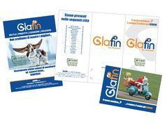 Kaos Agency - Pieghevole, Flyer, Cartolina Glafin