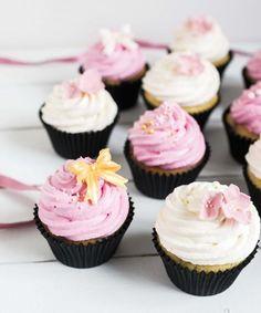 Vadelma-valkosuklaa cup cake