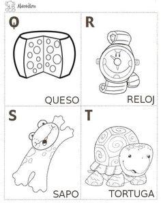 CoSqUiLLiTaS eN La PaNzA BLoGs: ABECEDARIO ILUSTRADO PARA IMPRIMIR Coloring Pages, Alphabet, Spanish, Preschool, Snoopy, Activities, Teaching, Comics, Crafts