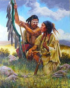Painting - The One That Got Away by Kirk Stirnweis Native American Face Paint, Native American Paintings, Native American Pictures, Native American Beauty, Native American Artists, American Indian Art, Native American History, American Indians, Indian Artwork